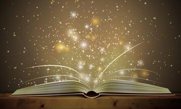 Magia che esce da un libro